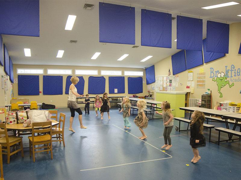 Brookfield Academy Indoor Gym