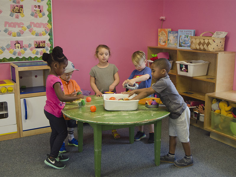 Toddlers at Brookfield Academy Daycare